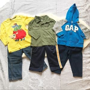 3 Outfit 18 Month Baby Boy Bundle